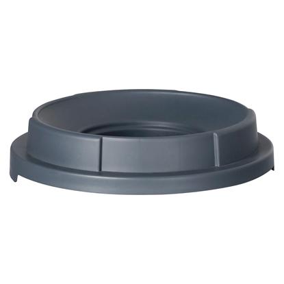 Pokrywa z otworem do pojemnika kontenera na odpadki kuchenne okrągłego 120L