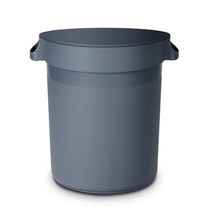 Kontener pojemnik na odpadki kuchenne okrągły 120L