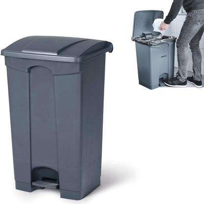 Pojemnik kosz na śmieci odpady z pedałem 68L