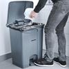 Pojemnik kosz na śmieci odpady z pedałem 87L