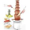 Fontanna do czekolady fondue 6 poziomów stalowa 300 W - Hendi 274163