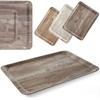 Taca do serwowania laminowana ciemne drewno 430 x 330 mm - Hendi 508886