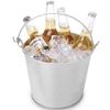 Wiaderko do lodu napojów piwa z otwieraczem do butelek śr. 230 x 180 mm - Hendi 516751