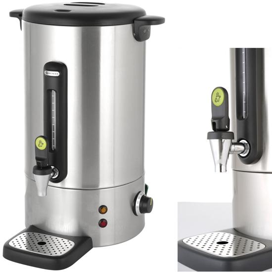 Warnik podgrzewacz do kawy z niekapiącym kranem stalowy Concept Line 18 l - Hendi 211427