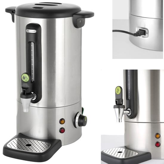 Warnik podgrzewacz do kawy z niekapiącym kranem stalowy Concept Line 10 l - Hendi 211410
