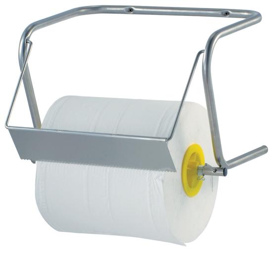 Wieszak dozownik dyspenser przemysłowy na rolkę ręczników papierowych ścienny - Hendi 809952