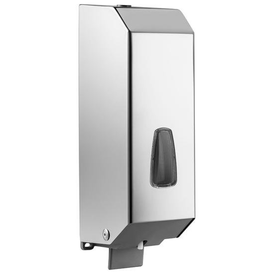 Dozownik dyspenser do mydła żelu ścienny ze stali nierdzewnej 1.2 l - Hendi 809921