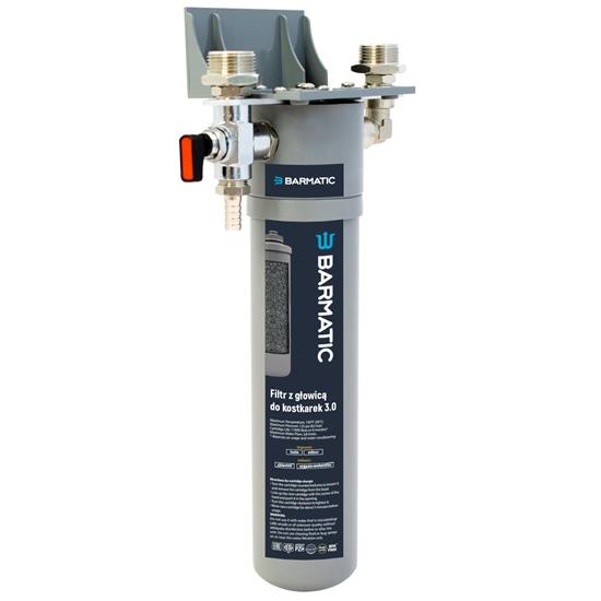 Filtr wody z głowicą do kostkarek łuskarek do lodu 3.0 wydajność 30 tys. l - Hendi 947012