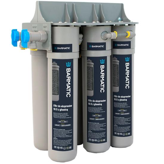 Filtr wody z głowicą do warników ekspresów do kawy 10.5 - Hendi 947098