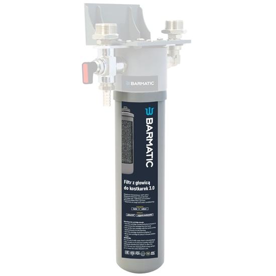 Wkład zamienny do filtra wody do kostkarek łuskarek do lodu 3.0 - Hendi 947029