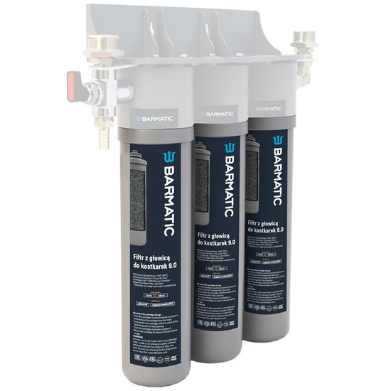 Wkład zamienny do filtra wody do kostkarek łuskarek do lodu 9.0 - Hendi 947043