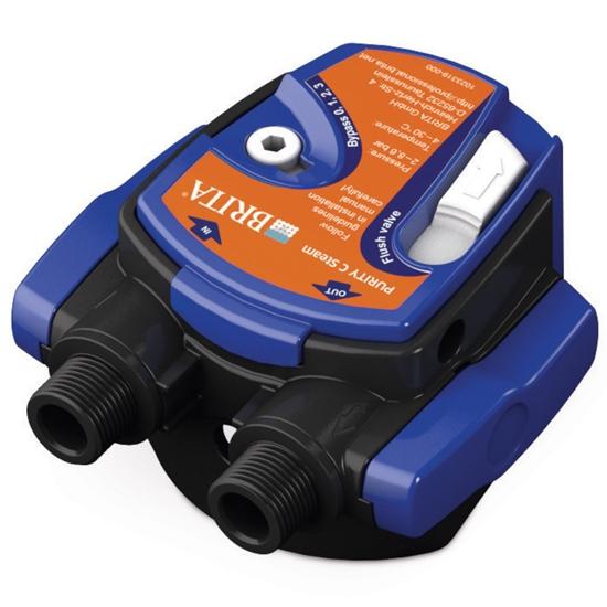 Głowica do filtra wody do ekspresów do kawy Purity C Steam G 3/8'' By-pass regulowany 0-4 - Hendi 1023325