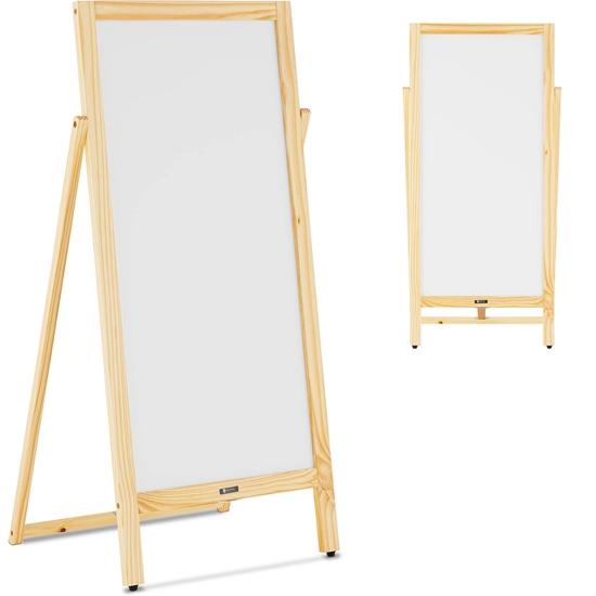 Stojak tablica potykacz reklamowy informacyjny magnetyczny z możliwością pisania 45 x 102.5 cm biała