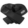 Masażer do szyi karku ramion pleców z funkcją podgrzewania 8 głowic 12V/230 V 24 W czarny
