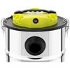 Odkurzacz kominkowy do popiołu mobilny nierdzewny z filtrem HEPA 1.2 kW 20 l
