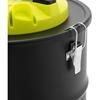 Odkurzacz kominkowy do popiołu mobilny z filtrem HEPA dł. węża 150 cm 1.2 kW 20 l