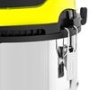 Odkurzacz przemysłowy budowlany mobilny nierdzewny gniazdo VDE HEPA 1.4 kW 25 l