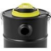 Odkurzacz kominkowy do popiołu z dmuchawą filtrem HEPA IPX0 1.2 kW 20 l