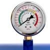 Inflator zbiornik ciśnieniowy do pompowania kół opon z manometrem 6-8 bar 38.5 l