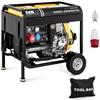 Agregat generator prądotwórczy diesel mobilny chłodzony powietrzem 230/400 V 4.4 kW 5.5 kVA 12.5 l