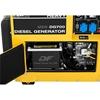 Agregat generator prądotwórczy diesel mobilny chłodzony powietrzem 230/400 V 4.4 kW 5.5 kVA 14.5 l