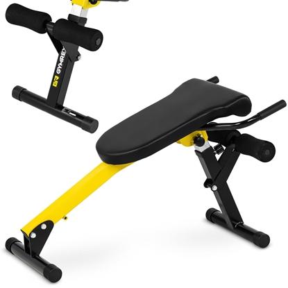 Ławka rzymska treningowa do ćwiczenia pleców brzucha składana regulowana do 130 kg