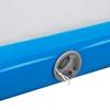 Mata materac ścieżka gimnastyczna akrobatyczna nadmuchiwana dł. 3 m niebiesko-szara