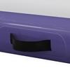 Mata materac gimnastyczny akrobatyczny do ćwiczeń dmuchany dł. 3 m gr. 10 cm fioletowy
