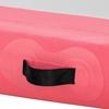 Mata materac gimnastyczny akrobatyczny do ćwiczeń dmuchany dł. 3 m gr. 20 cm różowy