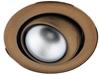 Oprawa stropowa ruchoma okrągła złota patyna OZR-05 2272228