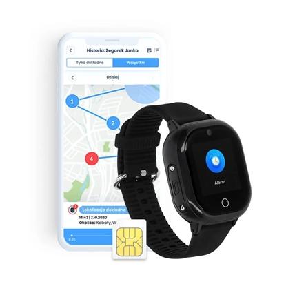Locon Watch Lite — Wodoodporny Smartwatch dla dzieci z nielimitowanymi połączeniami telefonicznymi