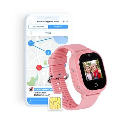 Locon Watch Lite S — Wodoodporny Smartwatch GPS dla dzieci z nielimitowanymi połączeniami telefonicznymi