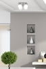 Lampa sufitowa biały klosz kula 4xG9 Oden 98-03256