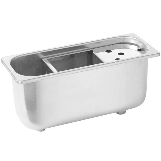 Płuczka myjka do gałkownic porcjonerów do lodów Kitchen Line 270 x 111 x 115 mm - Hendi 802007