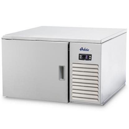 Schładzarka szokowa z termostatem ze stali nierdzewnej 3x GN 2/3 - Hendi 221716