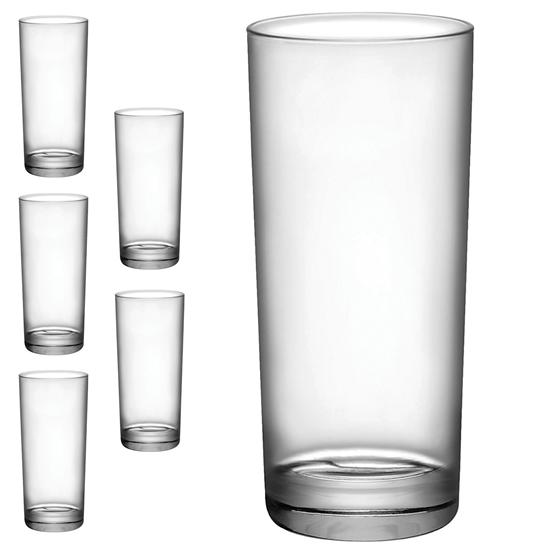 Szklanka wysoka CORTINA 275ml - zestaw 6szt.