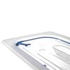 Pokrywka z uszczelką silikonową do pojemników GN 1/4 - Hendi 881835