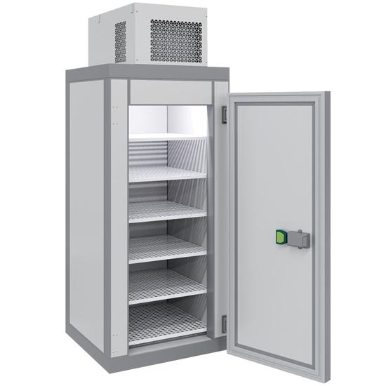 Komora chłodnicza składana z monoblokiem LED 100x100x261.5 cm 1100 W POLAIR MM111T - Hendi 229804