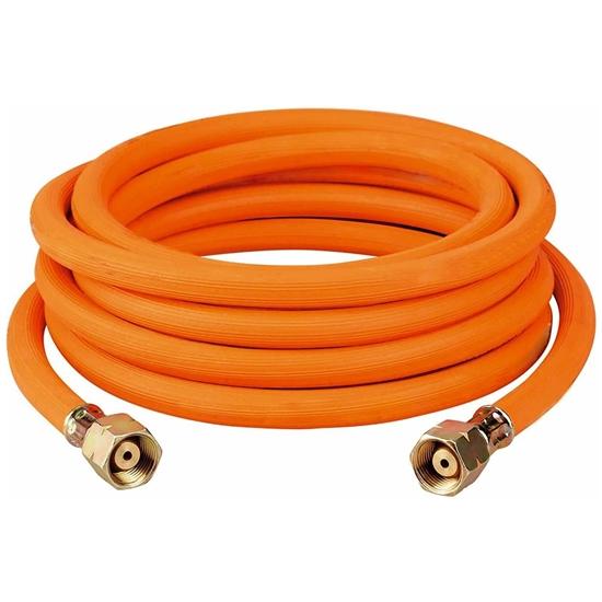 """Wąż do podłączenia butli gazowej złącza 2 x G3/8""""L - 5m"""