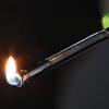 Zapalniczka do zniczy kominka gazu z długą elastyczną końcówką i blokadą bezpieczeństwa