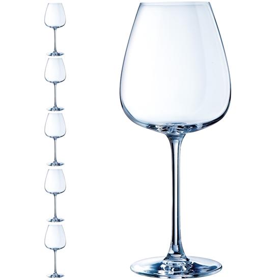 Kieliszek do wina GRANDS CEPAGES 620 ml zestaw 6 szt. - Hendi E6245