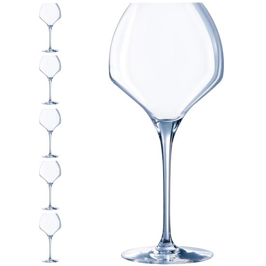 Kieliszek do wina OPEN UP 470 ml zestaw 6 szt. - Hendi U1012