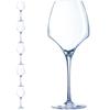 Kieliszek do wina OPEN UP 400 ml zestaw 6 szt. - Hendi U1011