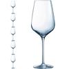 Kieliszek lampka do wina SUBLYM 550 ml zestaw 6 szt. - Hendi N1744