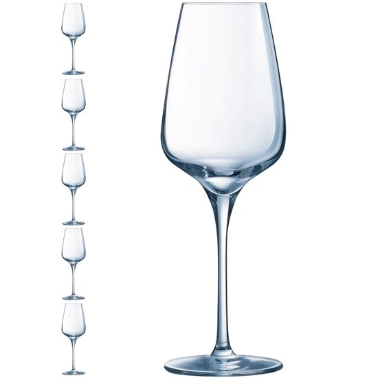 Kieliszek lampka do wina SUBLYM 350 ml zestaw 6 szt. - Hendi L2761