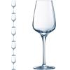 Kieliszek lampka do wina SUBLYM 250 ml zestaw 6 szt. - Hendi L2609