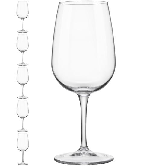 Kieliszek lampka do wina INVENTA 400 ml zestaw 6 szt. - Hendi 779170