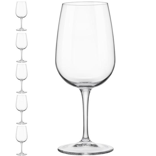 Kieliszek lampka do wina INVENTA 500 ml zestaw 6 szt. - Hendi 779163
