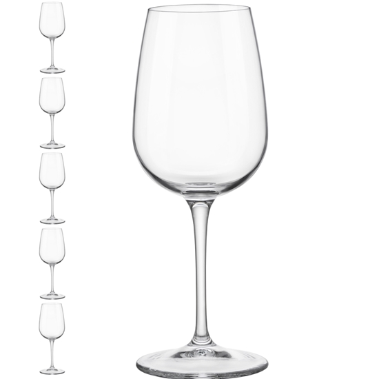 Kieliszek lampka do wina INVENTA 250 ml zestaw 6 szt. - Hendi 779187