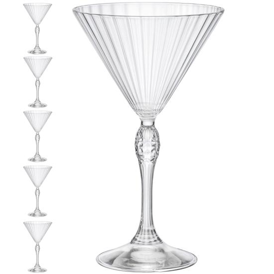 Kieliszek do martini AMERICA'20s 250 ml zestaw 6 szt. - Hendi 779286